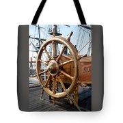 Ship's Helm Tote Bag