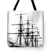 Ships Hms 'agincourt Tote Bag