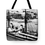 Ships Hms 'inflexible Tote Bag