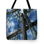 Ships Rigging Tote Bag