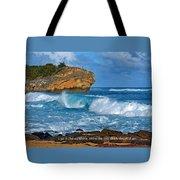 Shipwreck Beach Shorebreaks 1 Tote Bag