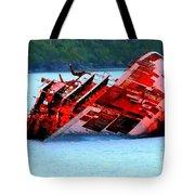 Chile Shipwreck Tote Bag