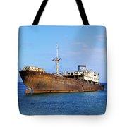 Shipwreck On Lanzarote Tote Bag
