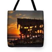 Shipwreck Sunburst Tote Bag