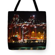 Shipyards  Callao Port Lima Peru Tote Bag
