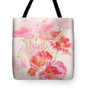 Shirley Poppies Tote Bag