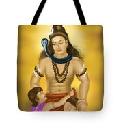 Shiva Family.  Tote Bag