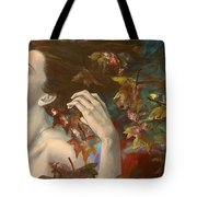 Shivers Tote Bag by Dorina  Costras