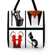 Shoe Love Quad Tote Bag
