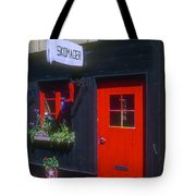 Shoe Repair Shop Tote Bag