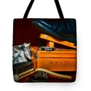 Shoe - Time For A Shine Tote Bag