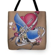 Shoeaholic Tote Bag by Chibuzor Ejims