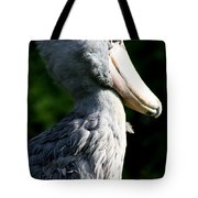 Shoebill Portrait Tote Bag