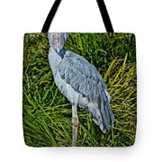 Shoebill Stork Tote Bag