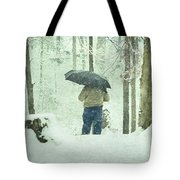 Shootin' In The Storm Tote Bag