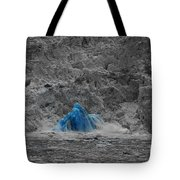 Shooting Glacier Tote Bag by Camilla Brattemark