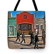 Shootout At The Ok Corral In Tombstone-arizona Tote Bag