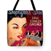 Shoplifter's Shoe. Vintage Pulp Fiction Paperback Tote Bag
