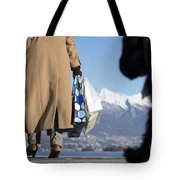 Shopping Bags And A Dog Tote Bag
