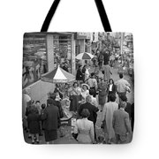 Shopping In Detroit Tote Bag