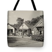 Shopping In Smithville Tote Bag