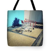 Shopping Trolleys  Tote Bag