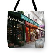 Shops On Rue Cler Tote Bag