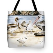Shore Birds Tote Bag