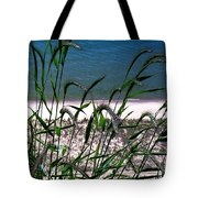 Shore Grass View Tote Bag