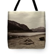 Shore Of A Loch In The Scottish Highlands Tote Bag