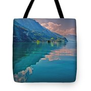 Shore Reflection Tote Bag