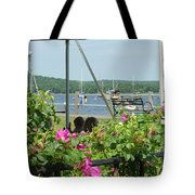 Shore Scene Tote Bag