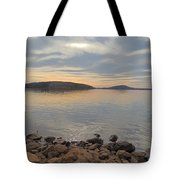 Shoreline At King's Mountain Point Tote Bag