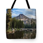 Shoreline View Of Anthony Lake Tote Bag