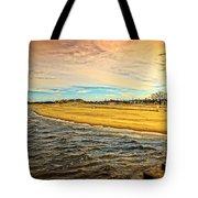 Shores Of Lake Michigan Tote Bag