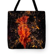 Shot Tomatoe Tote Bag
