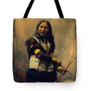 Shout At Oglala Sioux  Tote Bag