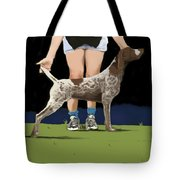 Show Day In Chestertown Tote Bag by Marjorie Weiss