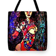 Show Off Tote Bag by Natalie Holland