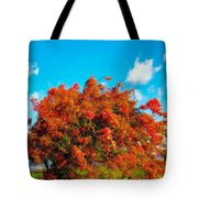 Shower Tree 18 Tote Bag