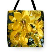Shower Tree 9 Tote Bag
