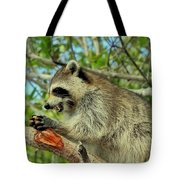 Showing My Teeth Tote Bag