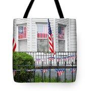 Showing The Flag Usa Tote Bag
