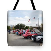Showing The Ride Tote Bag
