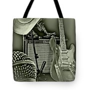 Show's Over - B W Tote Bag