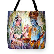 Shree Sita Ram Tote Bag