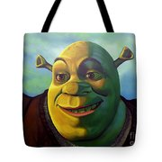 Shrek Tote Bag by Paul Meijering