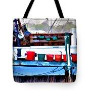 Shrimp Boat Buckets Tote Bag