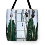 Shrimp Nets Tote Bag