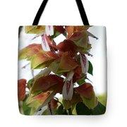 Shrimp Plant Tote Bag